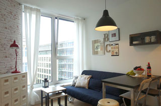 Zweizimmerapartment nahe Friedrichstraße