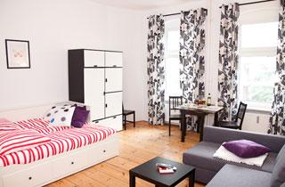 Ein-Zimmer-Apartment in Kreuzberg